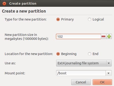 Boot Partition