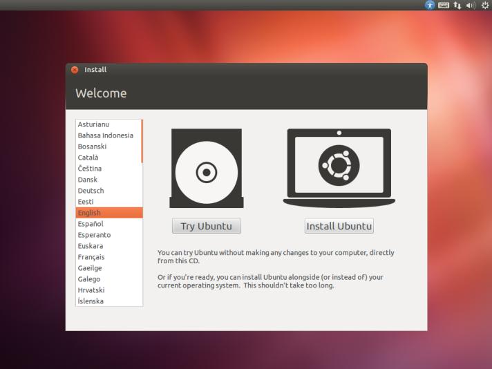 Try Ubuntu/Install