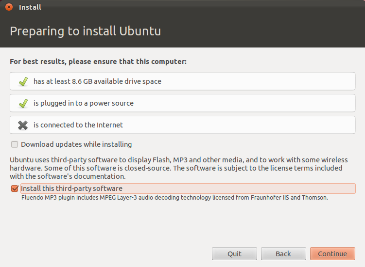 Prepare to Install Ubuntu 12.04 LTS