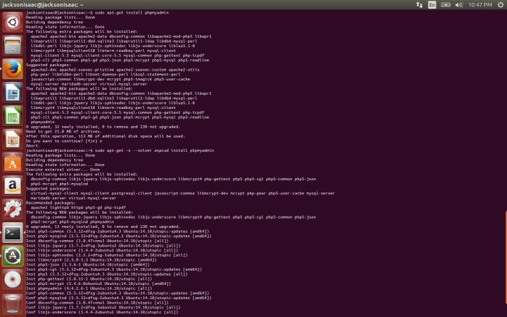 apt-cudf on Ubuntu