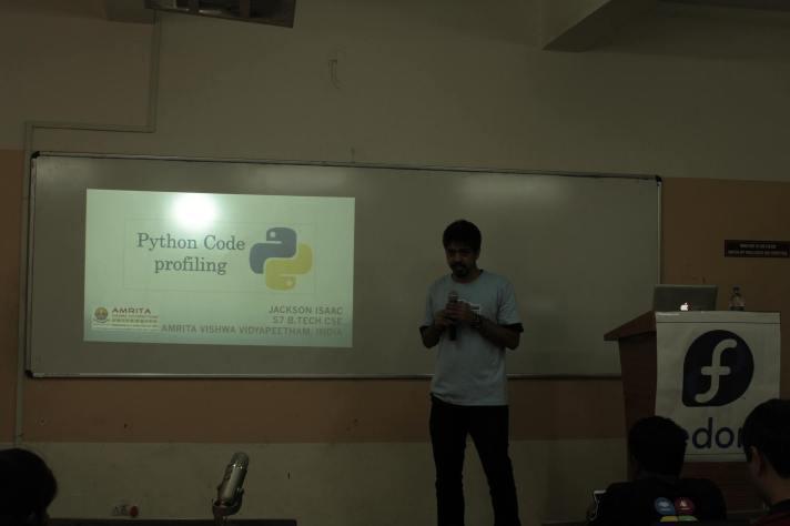 Python Code Profiling @ FUDCon